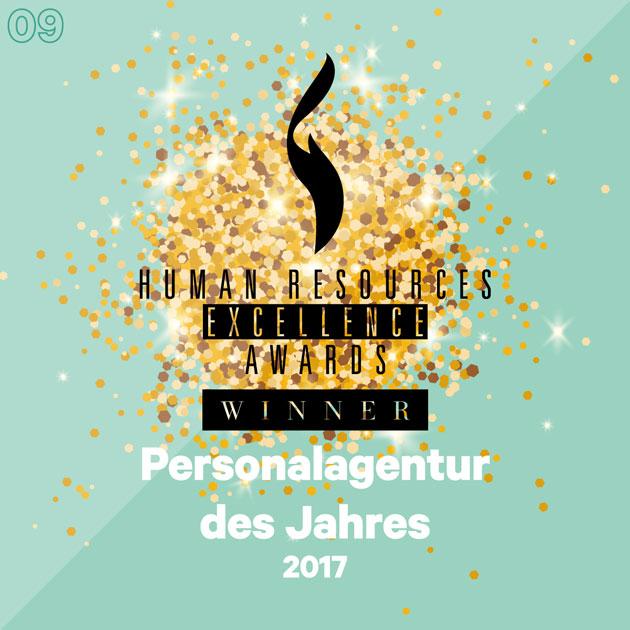 Personalagentur des Jahres 2017