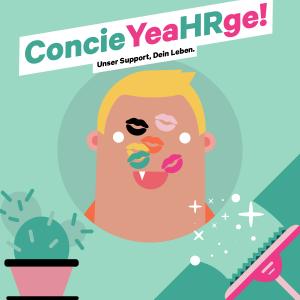 ConcieYeaHRge! – Unser Support, Dein Leben.