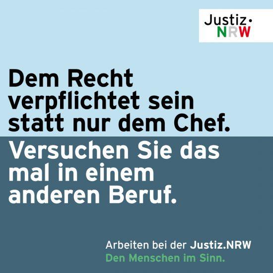 Justiz.NRW | Nachwuchsgewinnung