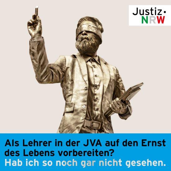 Justiz.NRW Recruiting Quereinsteiger